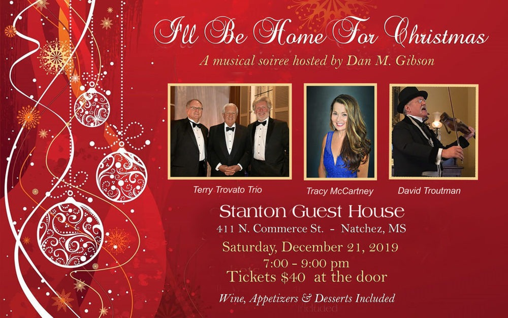 Christmas Soiree at Stanton Guest House – Dec 21