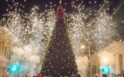 Natchez Lights Up Annual City Tree