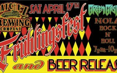 Frühlingfest at Natchez Brewing Co. • April 17