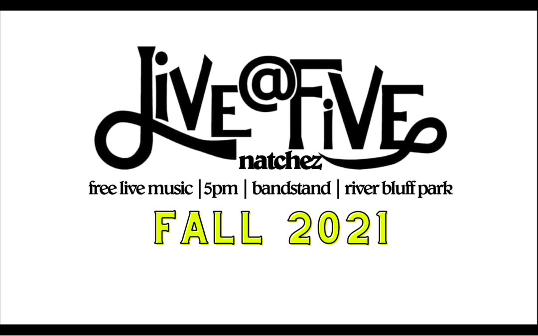 Live @ Five: Oct. 8, 14, 22, 29